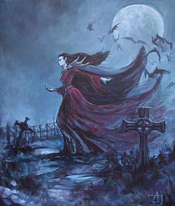 Vampire Girl by Morhin