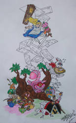 Alice Rib Tattoo design... by RealityBitez