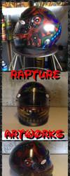 Freehand Airbrush helmet........ by RealityBitez