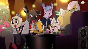 After Work Karaoke Party (Aggretsuko Season 2)
