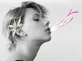 Scarlett Johansson by leroi14