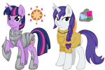 Eclipseverse Twilight and Rarity