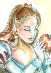 Snow white - detail