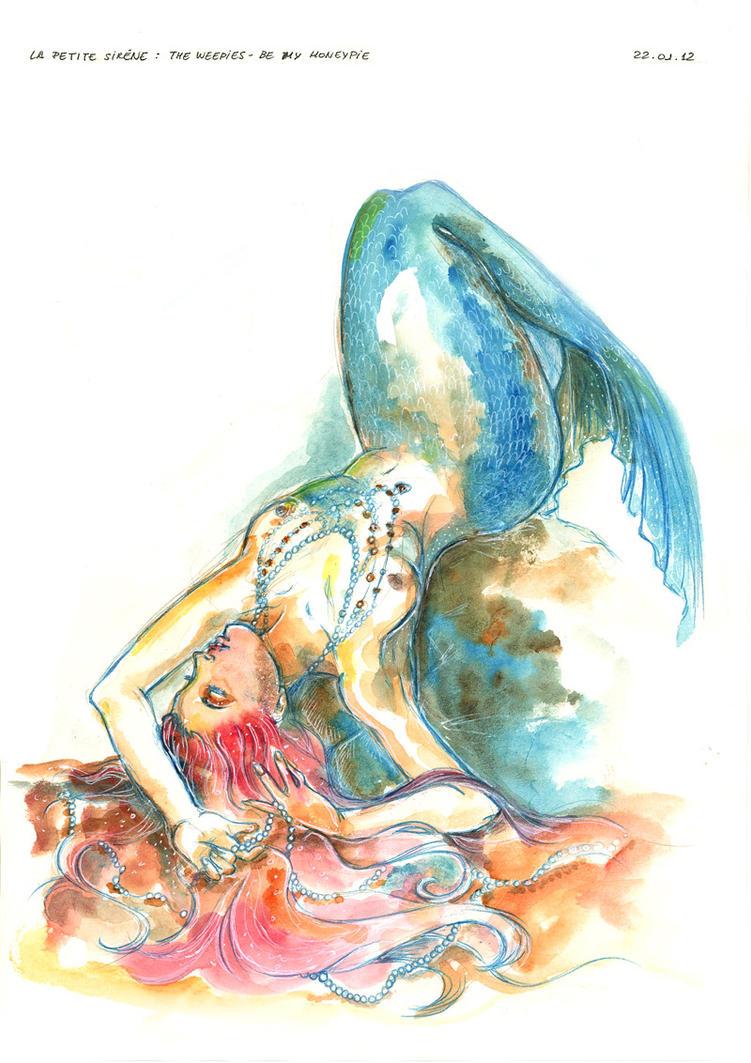 Little Mermaid - Watercolor by Isis-M on DeviantArt