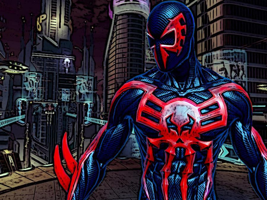 2099 Spider-Man By O85CUR3D On DeviantArt