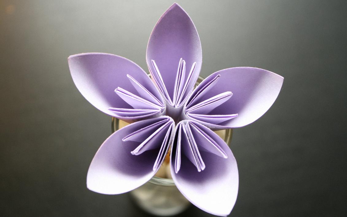 La kusudama flower! Kusudama_Flower_by_mkeandrw