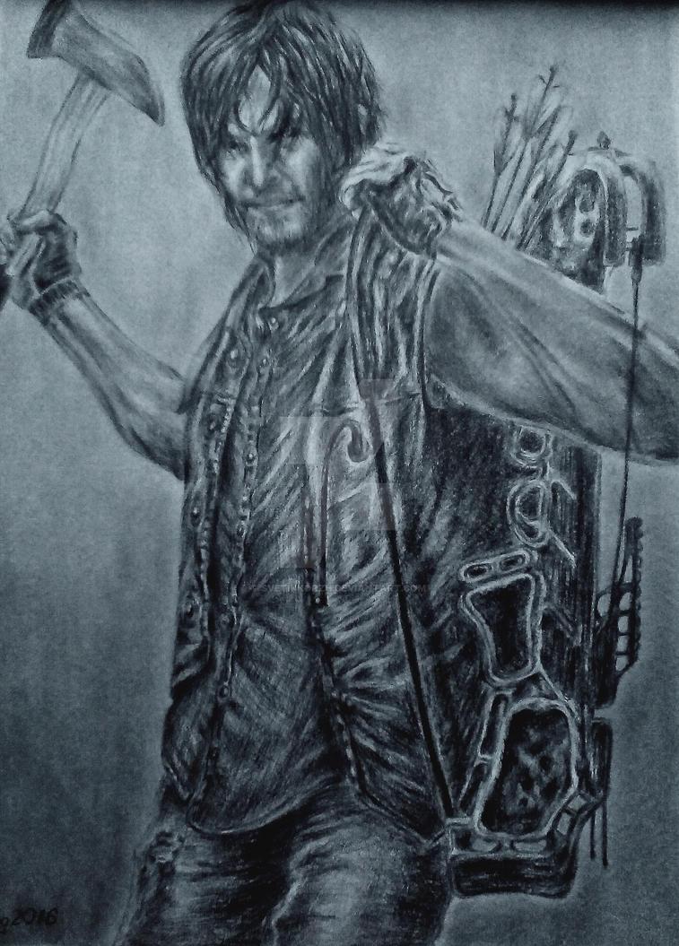 Daryl Dixon|The Walking Dead by SvetikKorzh