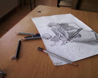 W.I.P. Art is Creation by Brebenel-Silviu
