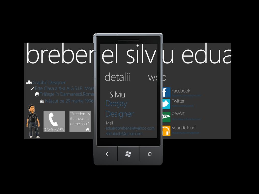 Windows Phone 7 ID by Brebenel-Silviu