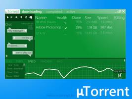 Metro UI : uTorrent by Brebenel-Silviu