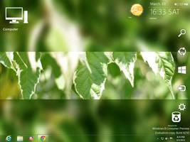 My Windows 8 CP Desktop by Brebenel-Silviu