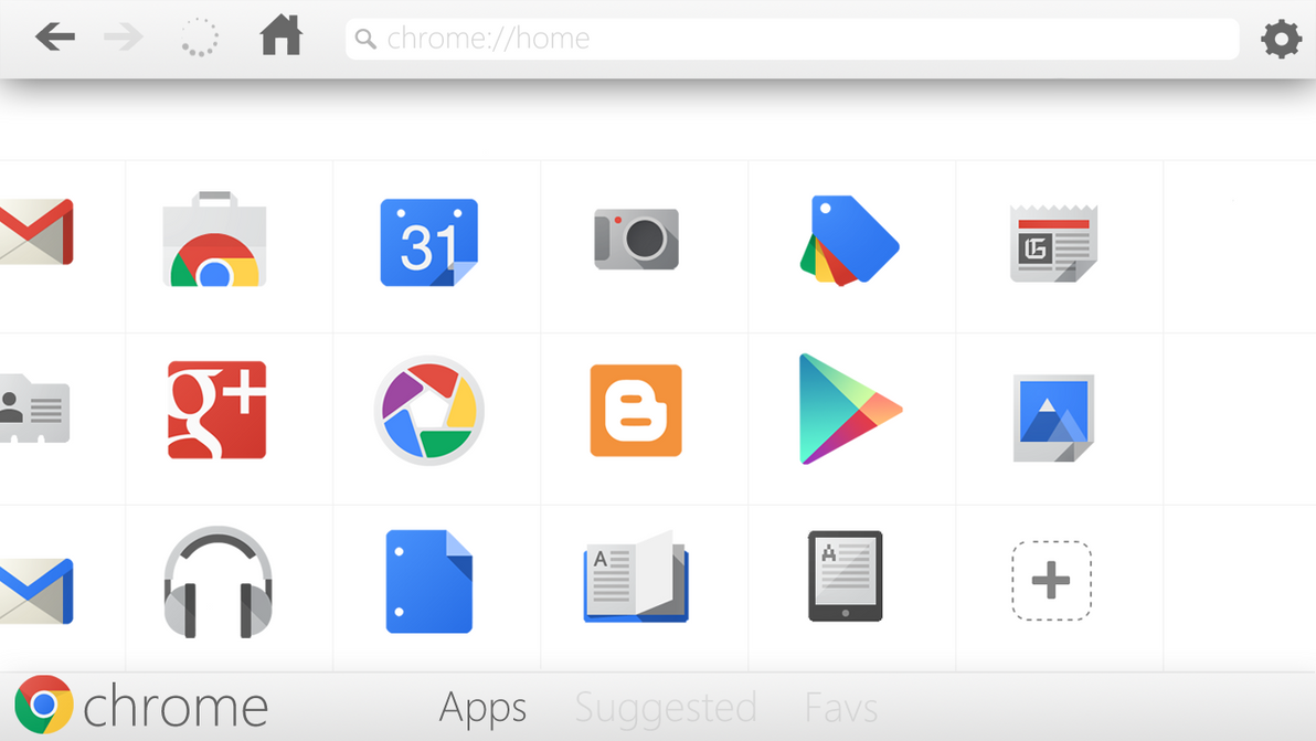 Google Chrome App Concept by Brebenel-Silviu