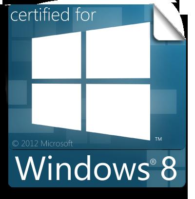 Certified for Windows 8 Sticker (WIP) by Brebenel-Silviu