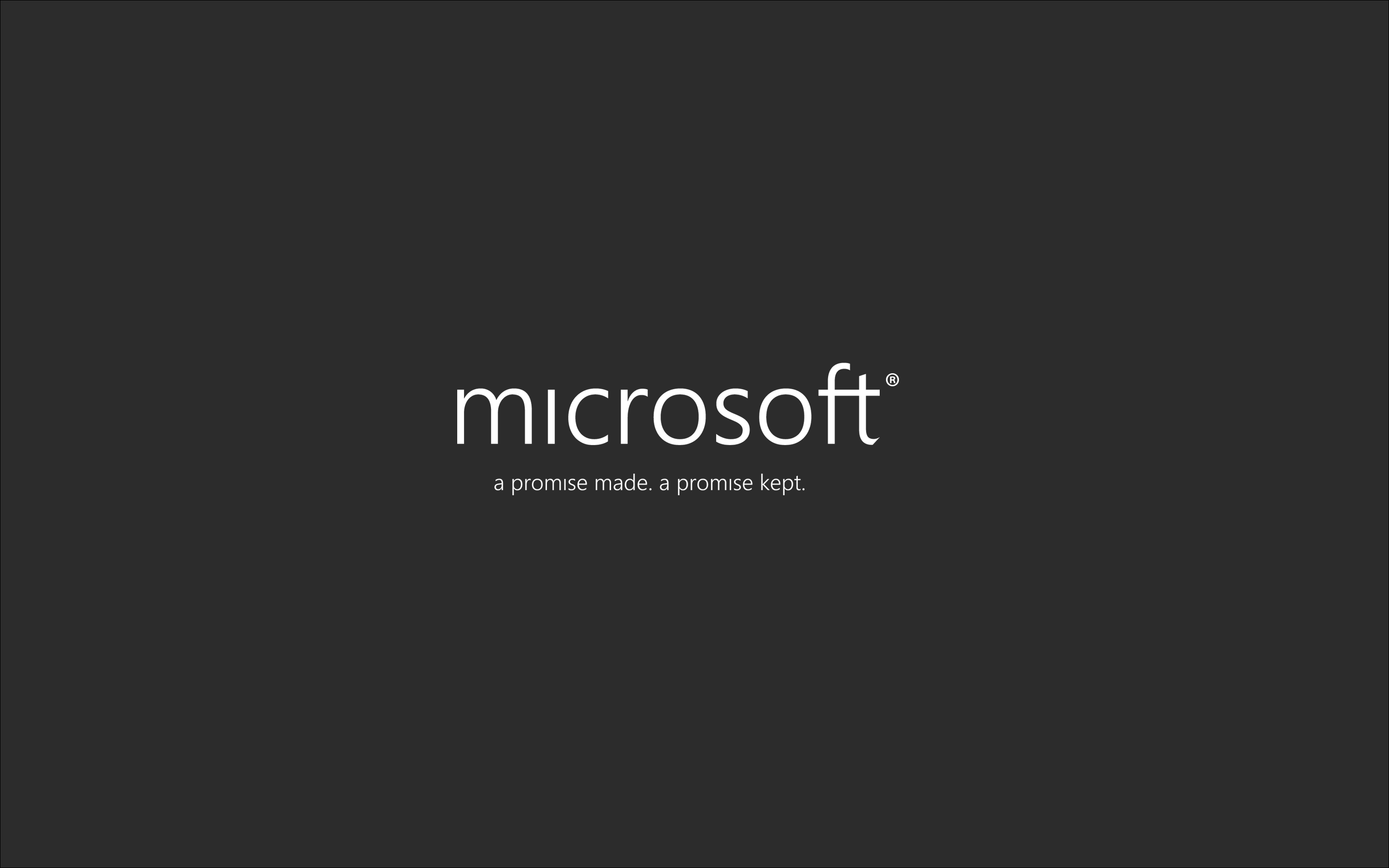 Microsoft Wallpaper by Brebenel-Silviu