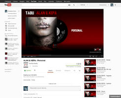 New Youtube Interface by Brebenel-Silviu
