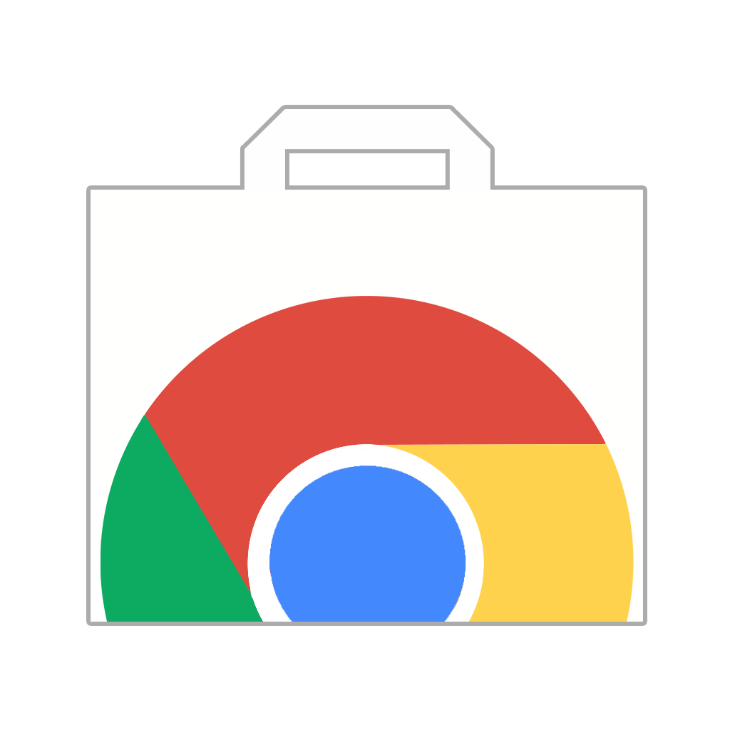 Chrome Web Store New Icon by Brebenel-Silviu