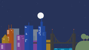 Google Inspired Wallpaper (Night) by Brebenel-Silviu