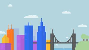 Google Inspired Wallpaper (Morning)