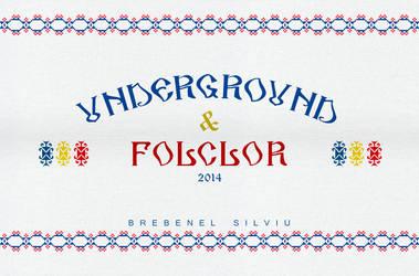 Subcarpati - Underground Folclor Artwork