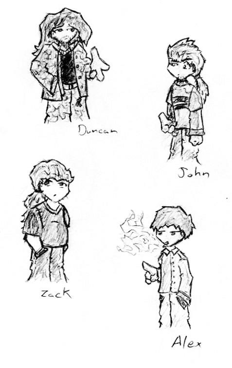 -NR Characters- by Ryuzaburo