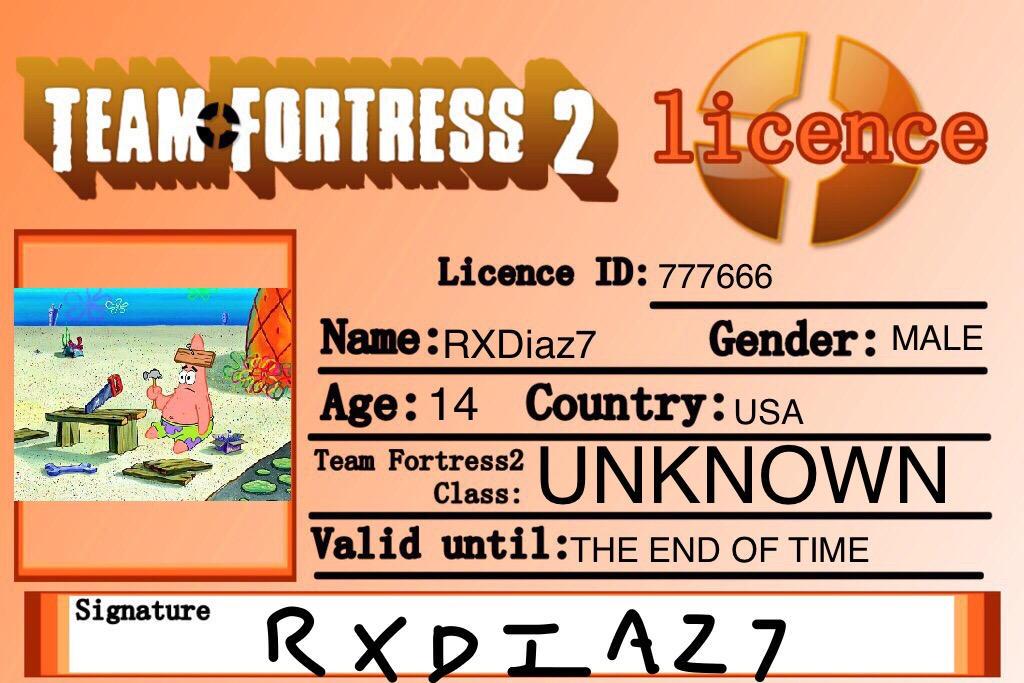 TF2 Liscense