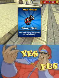 Getting the Power Claw