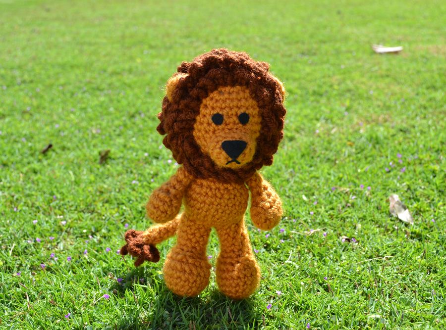 Free Amigurumi Lion Pattern : Griffin the lion amigurumi by miahandcrafter on deviantart