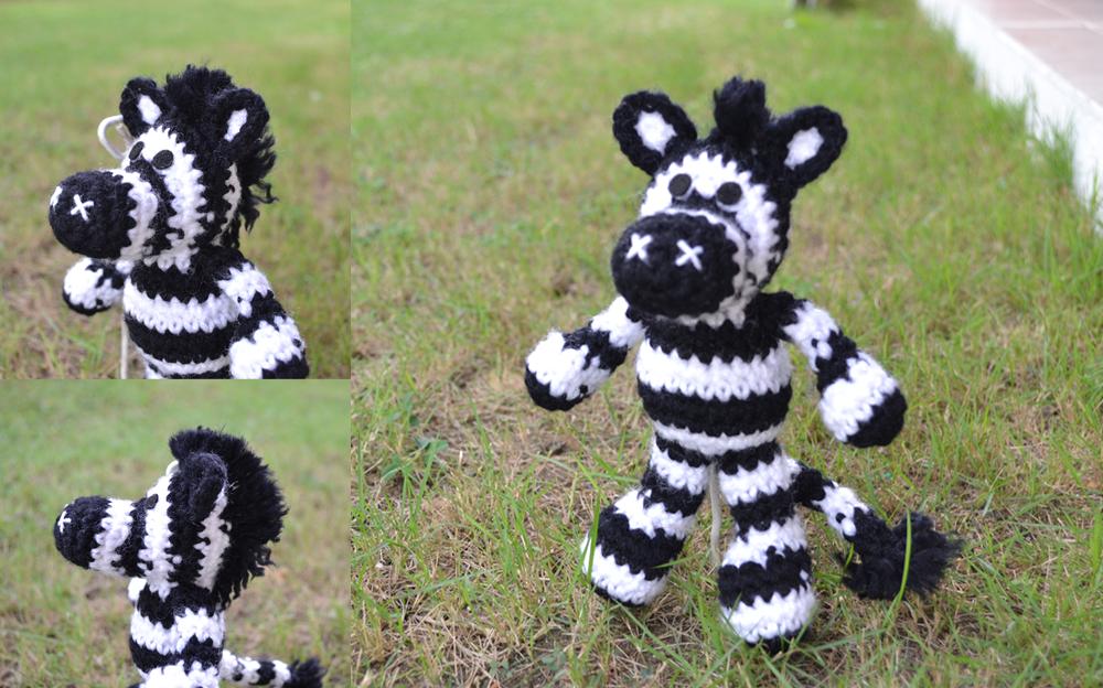 Amigurumi Zebra Hakeln : Wallace, the Zebra Amigurumi by MiaHandcrafter on DeviantArt