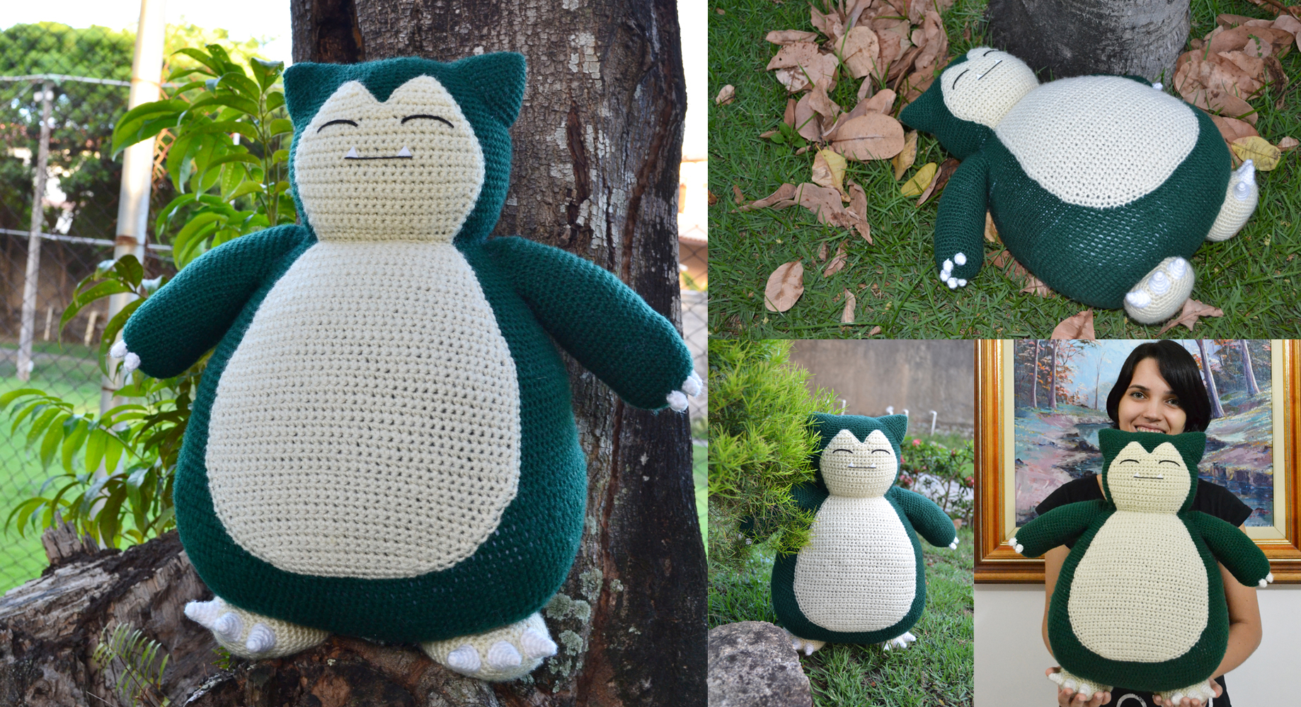 Snorlax from Pokemon Amigurumi, Design & Craft, Handmade Craft on ...   1000x1838