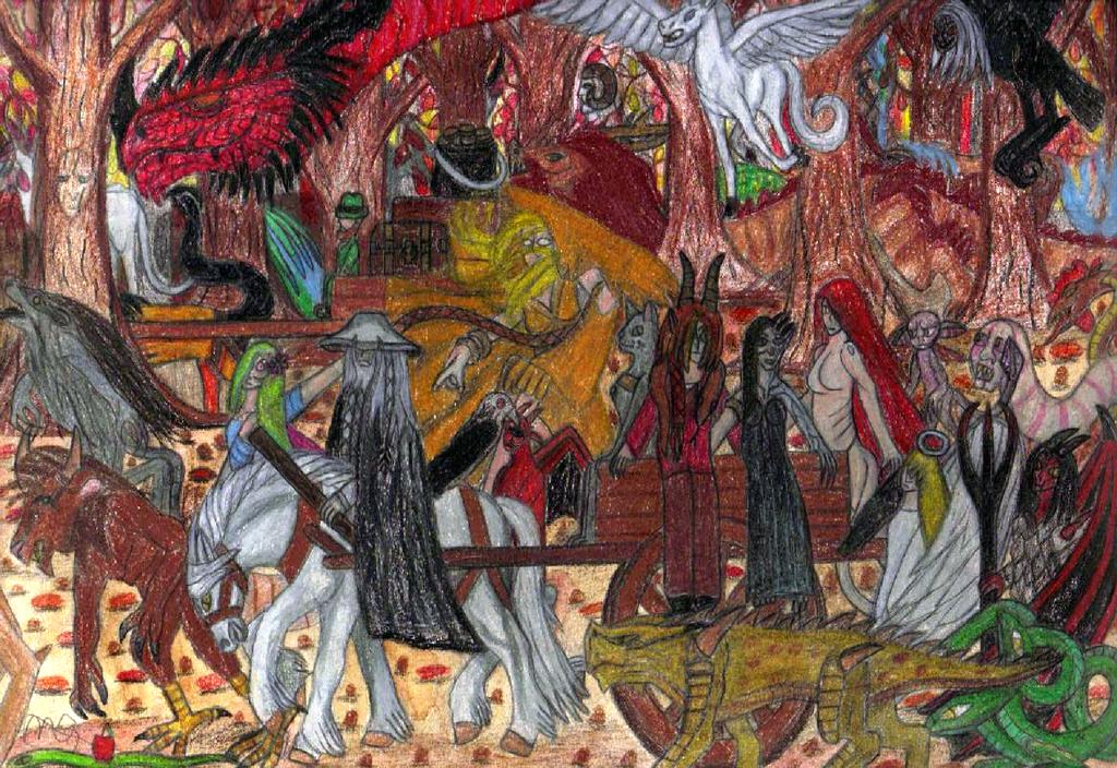 Exodus Of The Myth by desdemona16