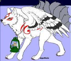 Nine-tailed wolf adopt(OPEN)