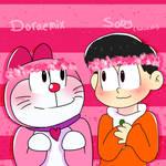 Doraemix and Soby (Sewashi) - Doraemon