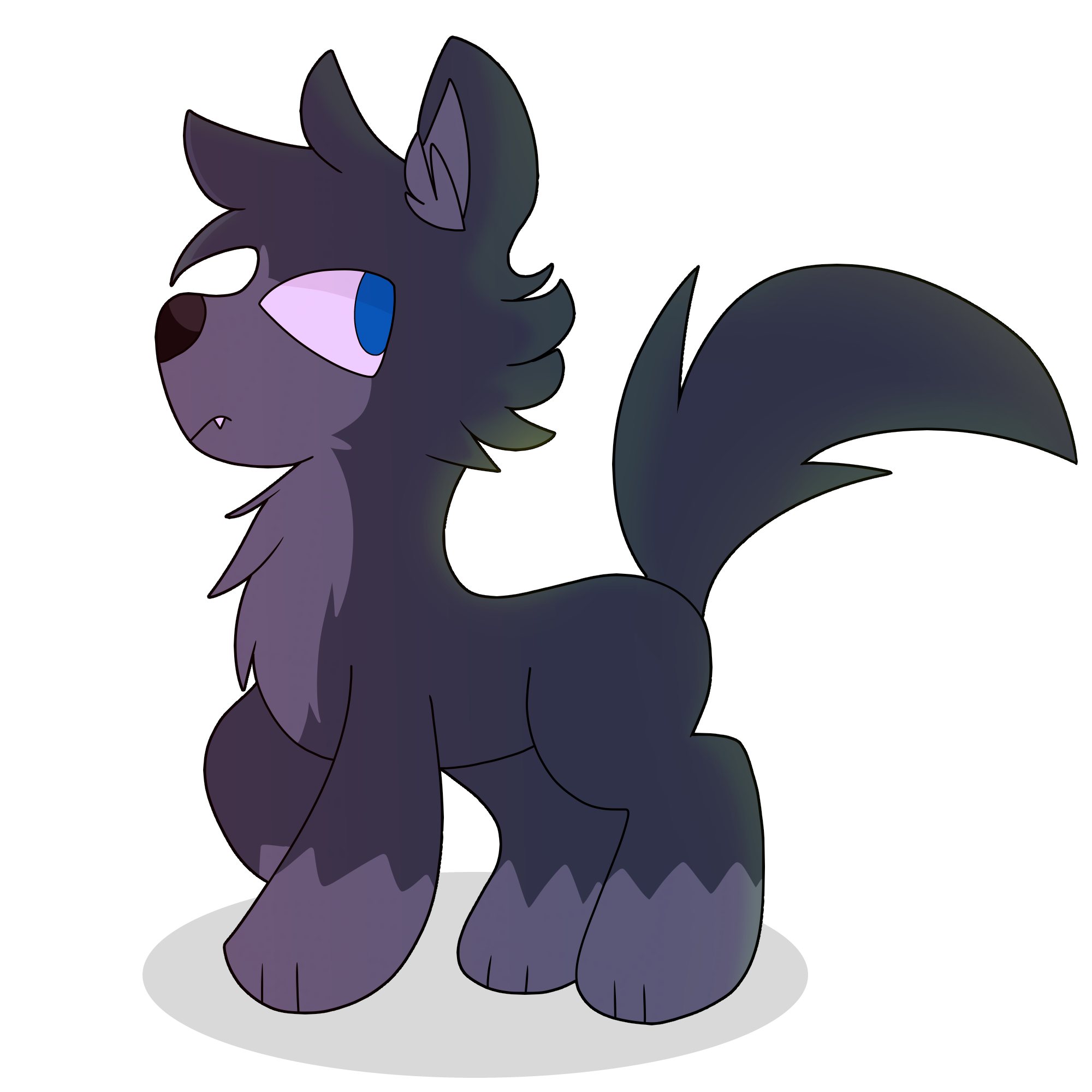 I tried to draw a wolf in the tms style by saveraedae on deviantart i tried to draw a wolf in the tms style by saveraedae ccuart Choice Image