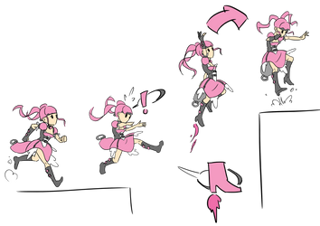 Ruby abilities --- Double Jump ---- by TheRaccoonRamirez