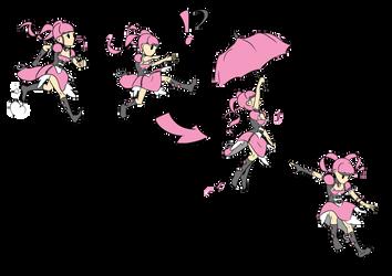 Ruby abilities --- Gliding ---- by TheRaccoonRamirez