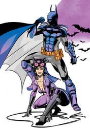 Bats and Cats ------ by TheRaccoonRamirez