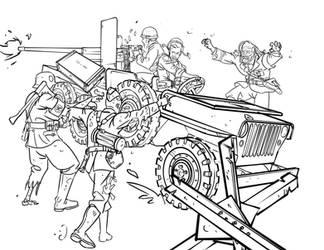 nazi zombies! by TheRaccoonRamirez
