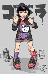 Graffiti Girl ----