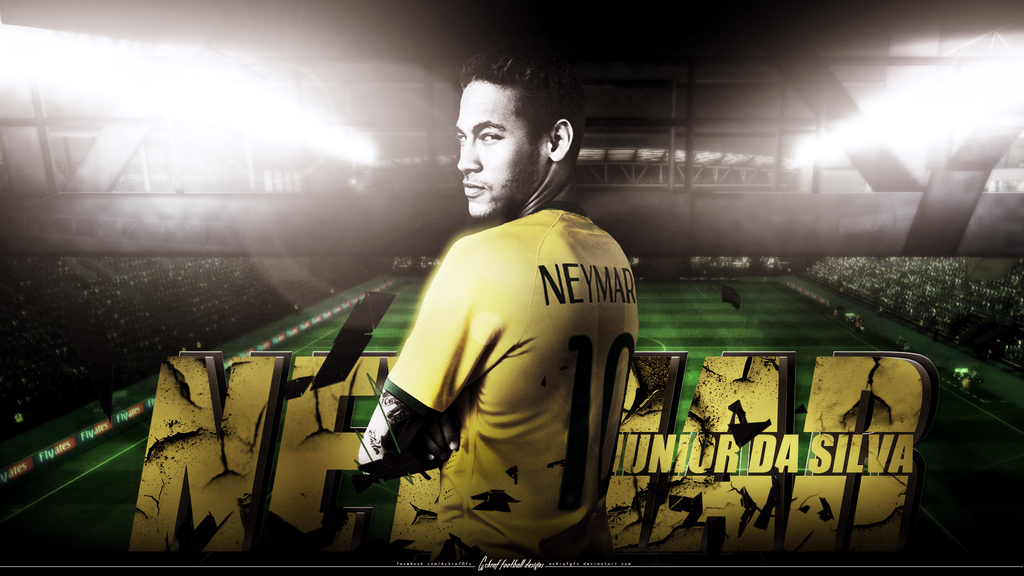 Neymar da silva junior wallpaper 2014 by achrafgfx on deviantart