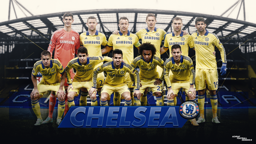 CHELSEA FC 2015 By Achrafgfx