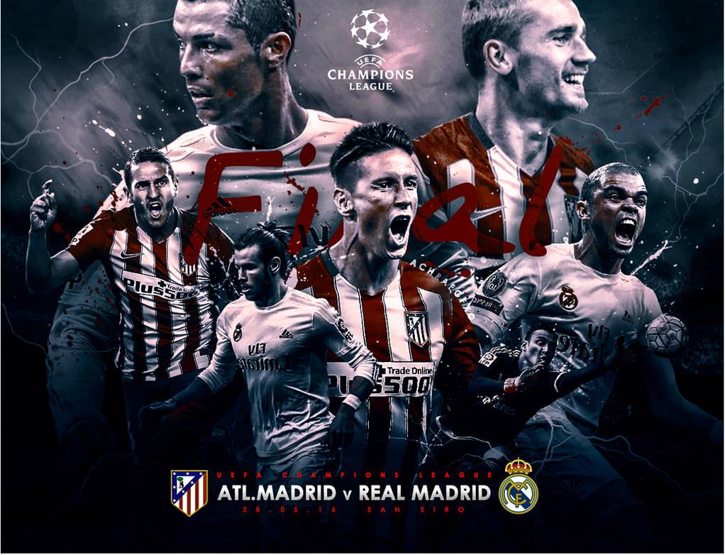Champions League Final 2015 2016 By Achrafgfx On Deviantart