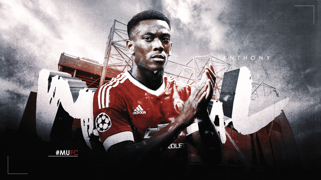 ANTHONY MARTIAL By Achrafgfx On DeviantArt