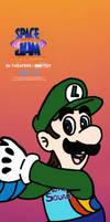 Luigi Joins Space Jam