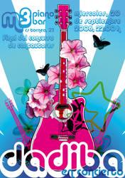 Cartel de concierto de Dadiba
