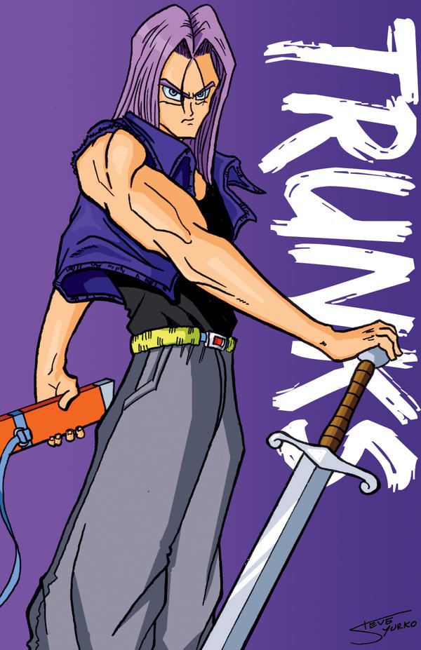 Future Trunks Card by TheSteveYurko on DeviantArt