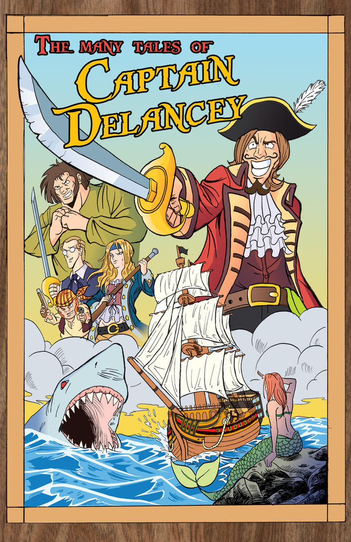 Captain Delancey Cover by TheSteveYurko