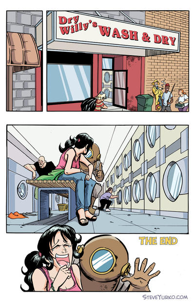 Wash Cycle Page 10 by TheSteveYurko
