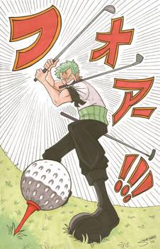 Zoro the Golf Hunter