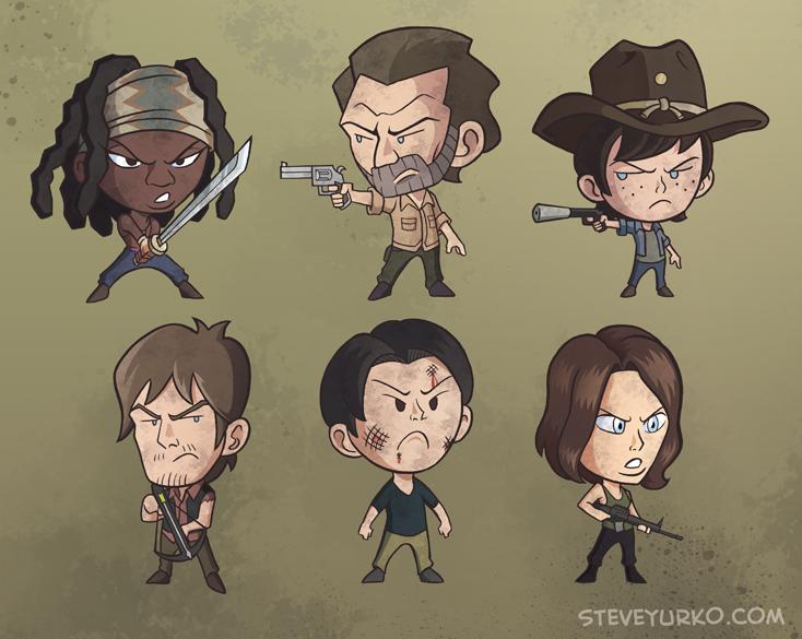 Wee Walking Dead by TheSteveYurko