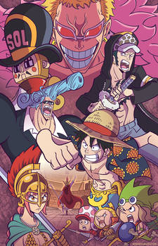 One Piece in Spain